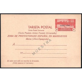 1935 ED. 3M * Enteros Postales Cabo Juby