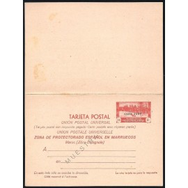 1935 ED. 4M * Enteros Postales Cabo Juby