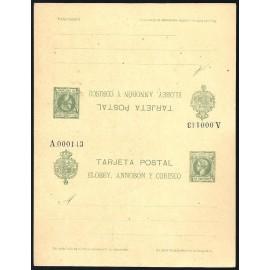 1905 ED. 4 ** Enteros Postales Elobey, Annobón y Corisco