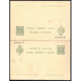 1905 ED. 4 * Enteros Postales Elobey, Annobón y Corisco