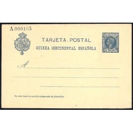 1905 ED. 3 * Enteros Postales Guinea