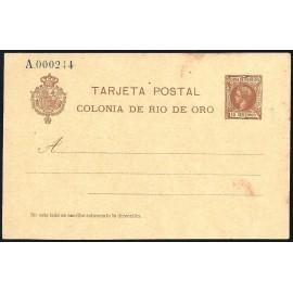 1905 ED. 1 * Enteros Postales Río de Oro