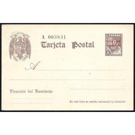 1947 ED. 1 * Enteros Postales Sahara