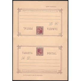 1889 ED. 05 ** Enteros Postales Filipinas