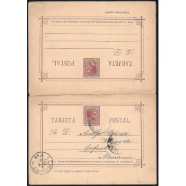1889 ED. 05 us Enteros Postales Filipinas
