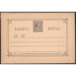 1892 ED. 06 * Enteros Postales Filipinas