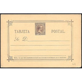 1892 ED. 06C * Enteros Postales Filipinas
