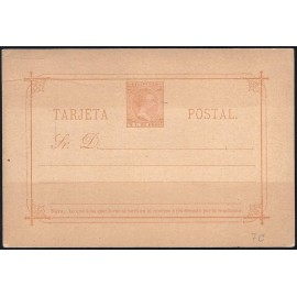 1892 ED. 07A * Enteros Postales Filipinas