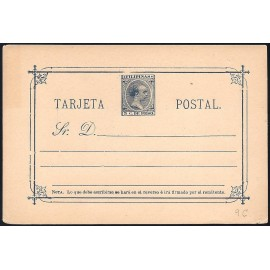 1894 ED. 09A * Enteros Postales Filipinas