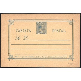 1894 ED. 09C * Enteros Postales Filipinas