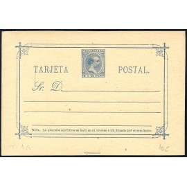 1896 ED. 10C * Enteros Postales Filipinas