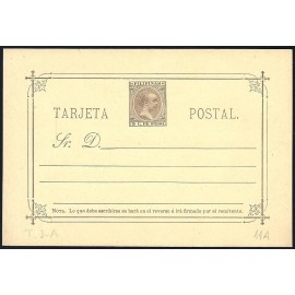 1896 ED. 11C * Enteros Postales Filipinas