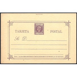 1898 ED. 14 * Enteros Postales Filipinas