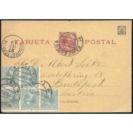 1896 Fantasías us Enteros Postales Fernando Poo