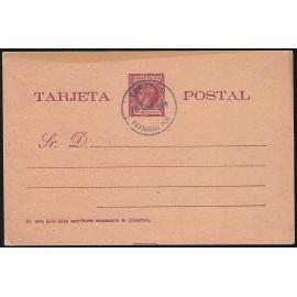 1899 ED. 1 MF Enteros Postales Fernando Poo
