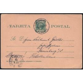 1899 ED. 2 us Enteros Postales Fernando Poo