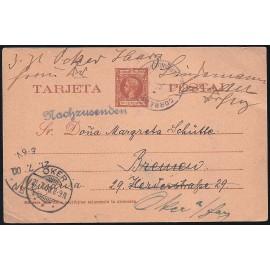 1899 ED. 4 us Enteros Postales Fernando Poo