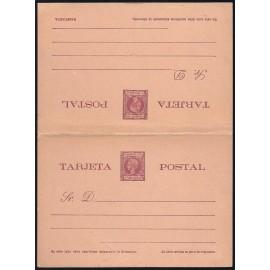 1899 ED. 5 * Enteros Postales Fernando Poo