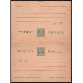 1899 ED. 06cb * Enteros Postales Fernando Poo