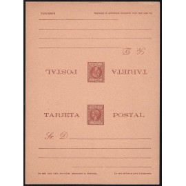 1899 ED. 08 ** Enteros Postales Fernando Poo
