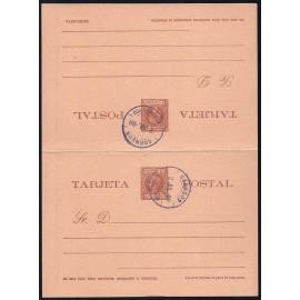 1899 ED. 08 MF Enteros Postales Fernando Poo