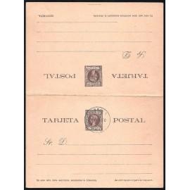 1900 ED. 14 MF Enteros Postales Fernando Poo