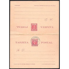 1900 ED. 15 MF Enteros Postales Fernando Poo
