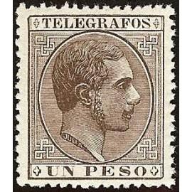 1880 ED. Filipinas Telégrafos 5 *