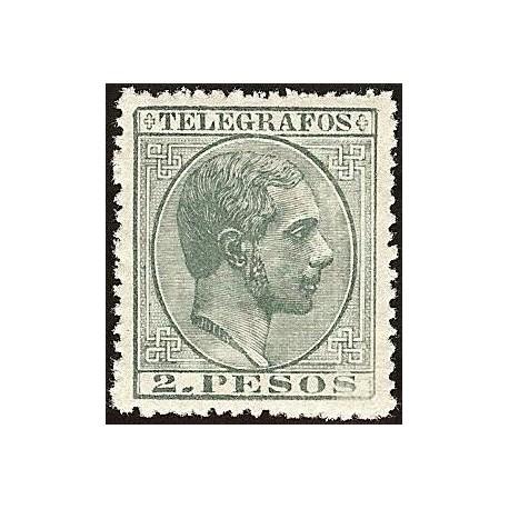 1880 ED. Filipinas Telégrafos 6 *