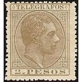 1886 ED. Filipinas Telégrafos 19 *