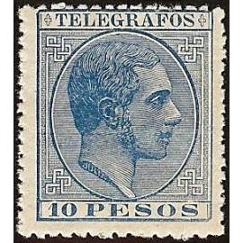 1886 ED. Filipinas Telégrafos 23 *