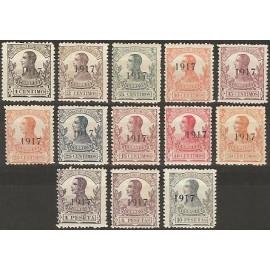 1917 ED. Guinea 111/123 * (2)