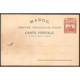 1899 Laiz CL2 * Enteros Postales Marruecos