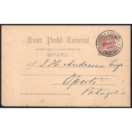 1889 ED. 21 us Precursores Marruecos