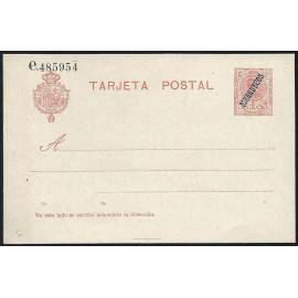 1914 ED. 05 * Enteros Postales Marruecos