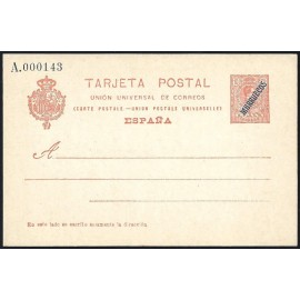 1914 ED. 06 * Enteros Postales Marruecos