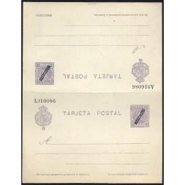 1914 ED. 07 * Enteros Postales Marruecos