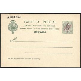 1916 ED. 09 * Enteros Postales Marruecos