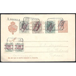 1916 ED. 11 us Enteros Postales Marruecos