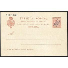 1916 ED. 11a * Enteros Postales Marruecos