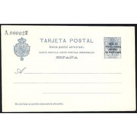 1924 ED. 16 * Enteros Postales Marruecos