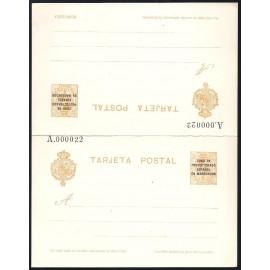 1924 ED. 17 * Enteros Postales Marruecos
