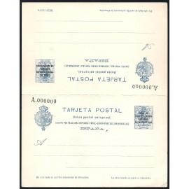 1924 ED. 18M * Enteros Postales Marruecos