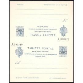 1924 ED. 18 ** Enteros Postales Marruecos
