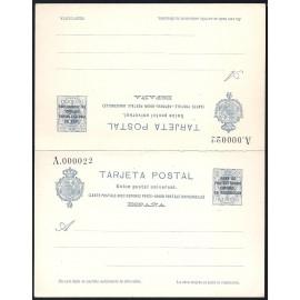 1924 ED. 18 * Enteros Postales Marruecos