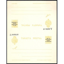 1924 ED. 19 ** Enteros Postales Marruecos