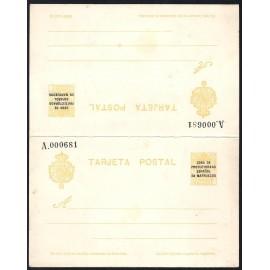 1924 ED. 19 * Enteros Postales Marruecos