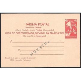 1933 ED. 21M * Enteros Postales Marruecos