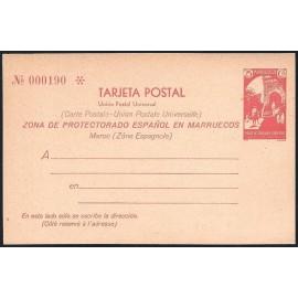 1933 ED. 21 * Enteros Postales Marruecos