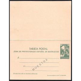 1933 ED. 22M * Enteros Postales Marruecos